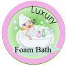 Luxury foam bath sticker