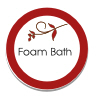foam bath sticker