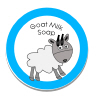 goat milk Soap Sticker