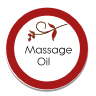 massage oil sticker
