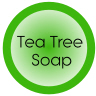 tea tree soap sticker